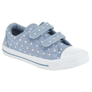 Blue dotty velcro Dhs39
