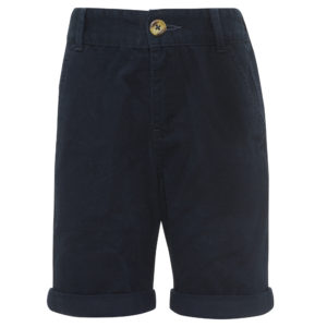 Navy chino shorts (Dhs45)