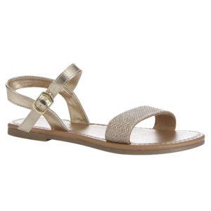 Gold mesh sandal (Dhs45)