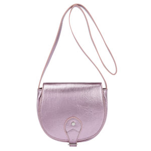 Metallic pink bag (Dhs49)