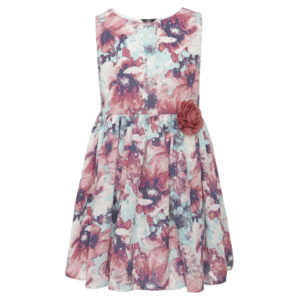 Floral dress with sequins, Dhs119