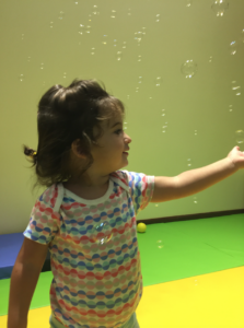 toddler senses dubai bubbles