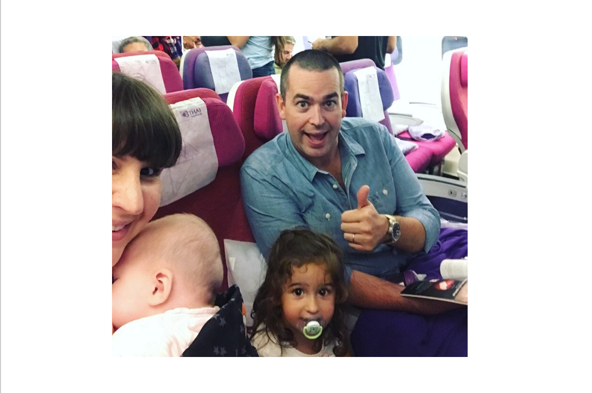 travelling with a baby toddler mothership dubai