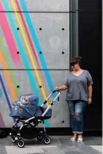 bugaboo bee 5 mothership dubai citywalk streetart